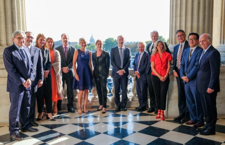 Group portrait of ILN representatives at the first CEO council on diversity.