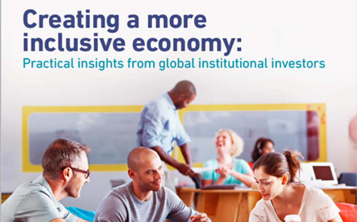 Creating a more inclusive economy report cover