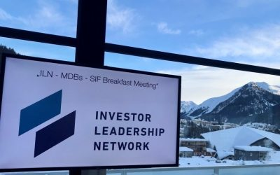 ILN, MDBs and SIF to accelerate collaboration on sustainable initiatives