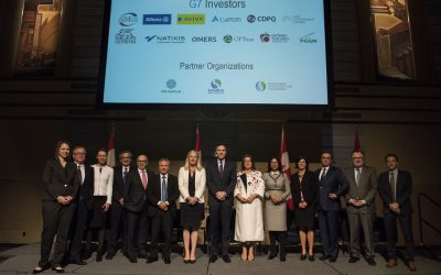 Leading Canadian and G7 Investors Come Together in Support of Global Development Initiatives