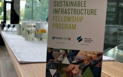 Sustainable Infrastructure Fellowship Program celebrates success of its first cohort in Toronto